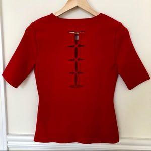 ALEXANDER WANG vermillion shirt